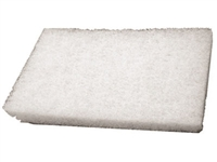 1in THICK WHITE SCRUB PAD 4.5in x 10in