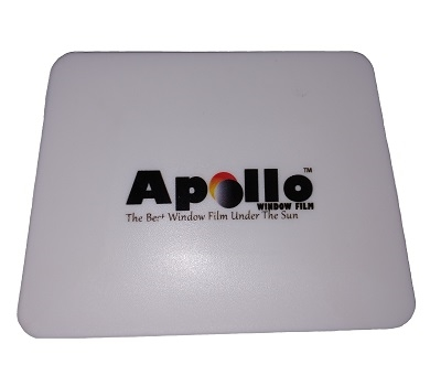 Apollo White Hard Card Squeegee