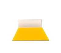 3.5in SOFT DARK YELLOW TURBO SQUEEGEE