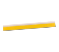 "18"" 1/2in YELLOW TURBO SQUEEGEE"