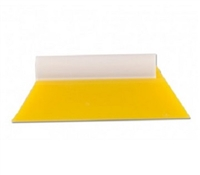 5in YELLOW TURBO SQUEEGEE W/ HANDLE