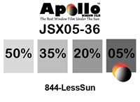 ULTRA JSX SERIES APOLLO WF 05% 1.5MIL 36in