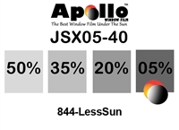 ULTRA JSX SERIES APOLLO WF 05% 1.5MIL 40in