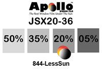 ULTRA JSX SERIES APOLLO WF 20% 1.5MIL 36in