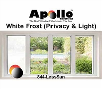 DECORATIVE WHITE FROST FILM 60in 100ft