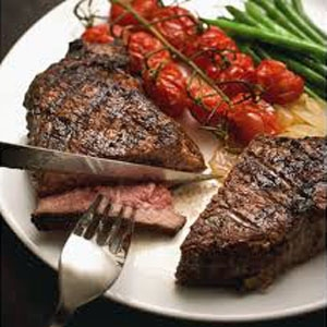 Bourbon Sirloin Steaks