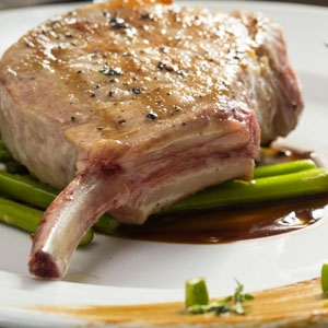 Frenched Pork Chops