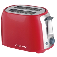 Crown CT-725R Toaster 2*Slice 700W Red