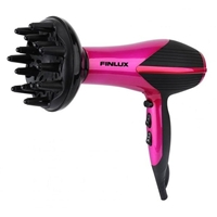Finlux HDF-2255 Hair Dryer 2200W Concentrator+Diffusor Purple