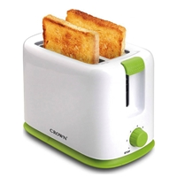 Crown CT-710WG Toaster 2*Slice 700W White/Green