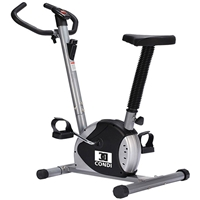 Crown BB-801BS Fitness-Bicycle Silver/Black