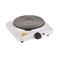Crown CHP-1518WS Hotplate-Stove 1*Hob 1500W White