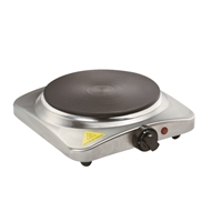 Crown CHP-1519IS Hotplate-Stove 1*Hob 1500W Silver