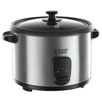 Russell Hobbs Rice Cooker 1.8Ltr Brushed Steel 19750
