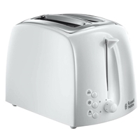 Russell Hobbs 2-Slice Automatic Toaster Textures White 21640