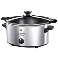 Russell Hobbs Slow Cooker 3.5Ltr 160W Stainless Steel 22740
