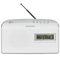 Grundig Music 61 Portable Radio GRN 1400 White
