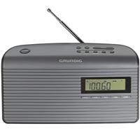 Grundig Music 61 Portable Radio GRN 1410 Grey
