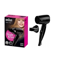 Braun HD130 Satin Hair 1 Style & Go 1200W Dryer