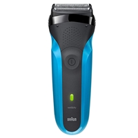 Braun Series 3 310s Wet&Dry Cordless Electric Shaver Black/Blue