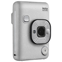 Fujifilm Instax Mini LiPlay Instant Camera Stone White