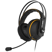 Asus TUF H7 Gaming Headset USB/3.5mm with Microphone Black/Yellow