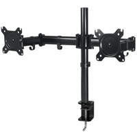 Arctic Z2 Basic Monitor-Desk-Stand 2*Monitor 2*Arms Desk-Mount Black (AEMNT00040A)