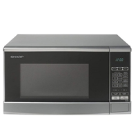 Sharp R270S Microwave Oven 20Ltr 800W Digital-Control LED-Display Grey