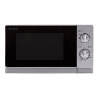 Sharp R20DS Microwave Oven 20Ltr 800W Mechanical-Control Grey