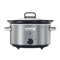 Crock-Pot Round Steel 3.5L For4 Slow Cooker