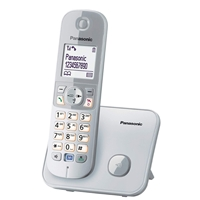 Panasonic KX-TG6811 Cordless Phone w/Handsfree White