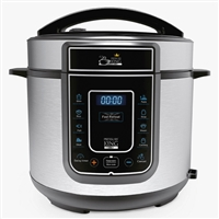 Pressure King Pro Cooker 3Ltr   8-in-1 Cooking Functions 700W