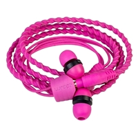 Wraps Classic In-Ear Headphone Pink WRAPSCPIN-V5 Simple Product Headphones
