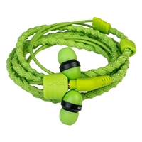 Wraps Classic In-Ear Headphone Green WRAPSCGRN-V5 Simple Product Headphones