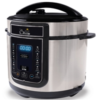 Pressure King Pro Cooker 5Ltr 1 2-in-1 Cooking Functions 900W