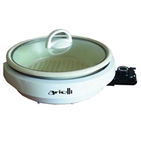 Arielli AEP-1300 Electric Non-stick Ceramic-Coating Grill with Glass Lid 3Ltr 1300W