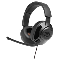 JBL Quantum 200 Wired Gaming Headset Black