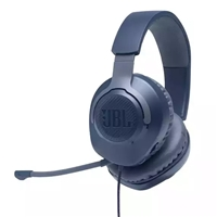 JBL Quantum 100 Wired Gaming Headset Blue