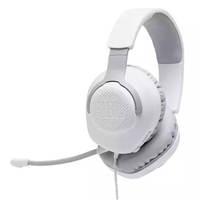 JBL Quantum 100 Wired Gaming Headset White