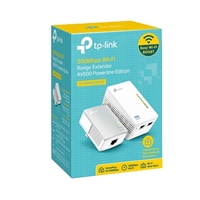 TP-LINK TL-WPA4220KIT Wireless-N AV600 Homeplug Kit Powerline Extender