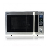 Midea AC930 Microwave Oven + Grill + Convection 30Ltr Silver 900W