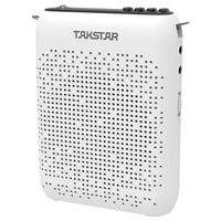Takstar E220 Portable Mini Amplifier with Built-in MP3-Player & Bluetooth White