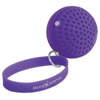 Manhattan Sound Science Atom Glowing Wireless Mini-Speaker Bluetooth Rhythmic-LED Lighting-Effects Purple 162326