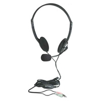 Headphones+Mic Stereo Eco Manhattan 164429