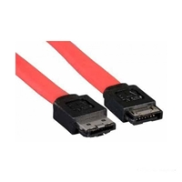 Cable - eSATA-M (L type) to SATA-F (I type) - 0.5mtrs Manhattan 374873