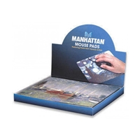 Mouse-Mat Laser  Famous-Paintings Manhattan 423496 (Outer contains 24)
