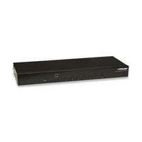 KVM Switch   8PC KVM-Switch VGA+PS2/USB Rackmount OSD Intellinet 506441 (Cables Included)