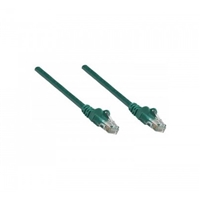 UTP Patch-Lead Cat6 0.25m Green RJ45 Network Cable Intellinet 730815