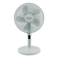 Argo TABLO WHITE 40cm Plastic-Blades 55W 3-Speed 3-mode Desk Fan w/Remote
