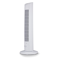 Argo IVY TOWER 78.3cm Tower Fan 32W Oscillation w/Remote 3-Speed 3-mode with-Timer